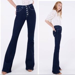 "Veronica Beard Beverly 10"" Skinny Flare—Tumble, 25"